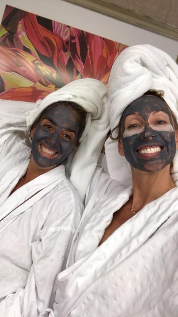 cobalt and tawny osea mask