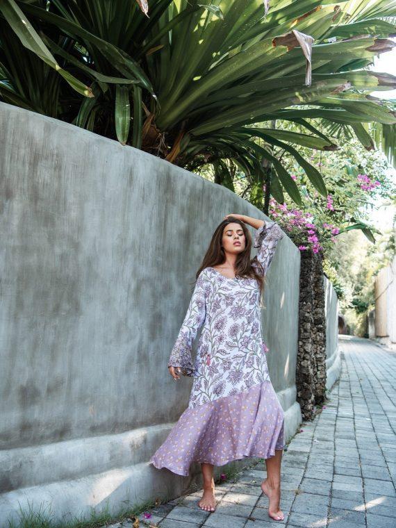 Cobalt & Tawny_ Magnolia dress Amaranta Rosa 2