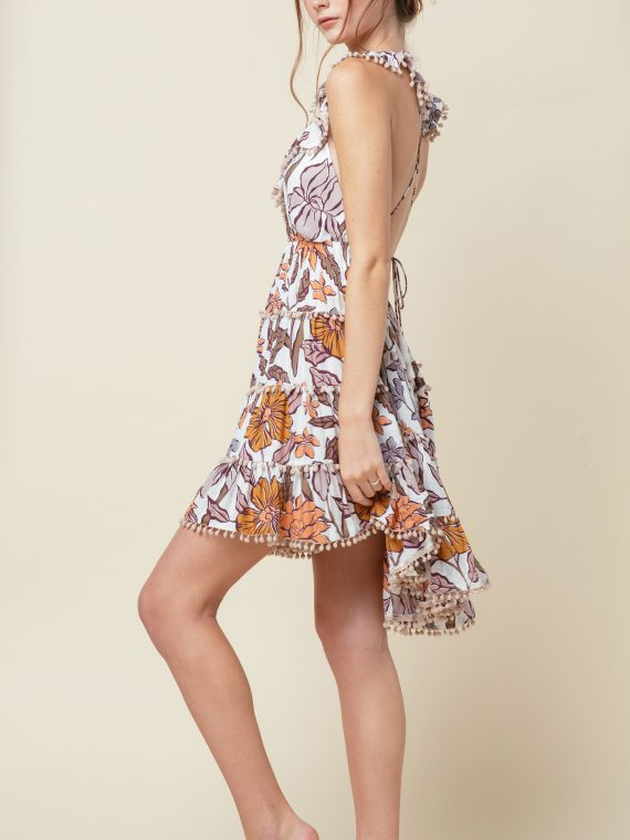 Cobalt and Tawny Sedona Dress 2
