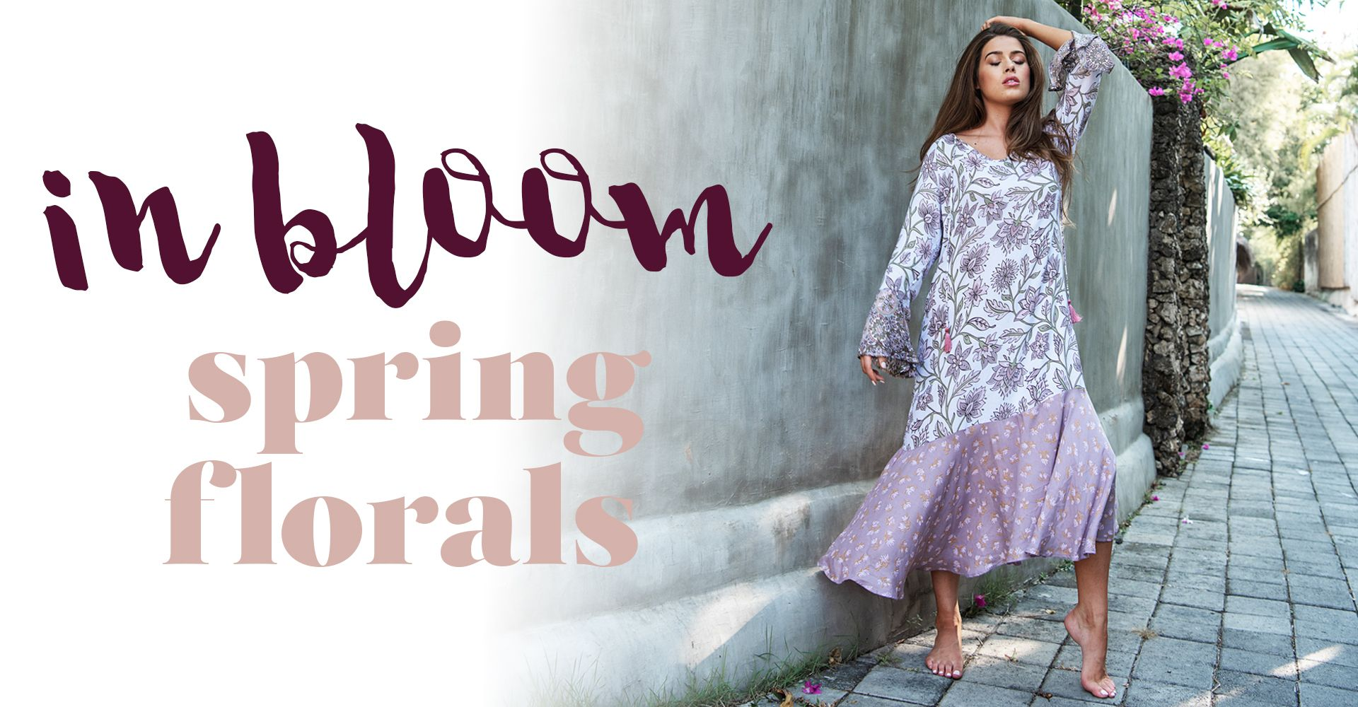 Cobalt and Tawny in bloom spring florals