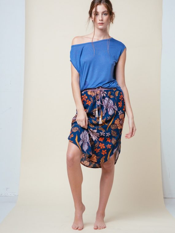 PHOENIX TEE Color Sky – CANYON SKIRT Color Desert Rose Midnight00001