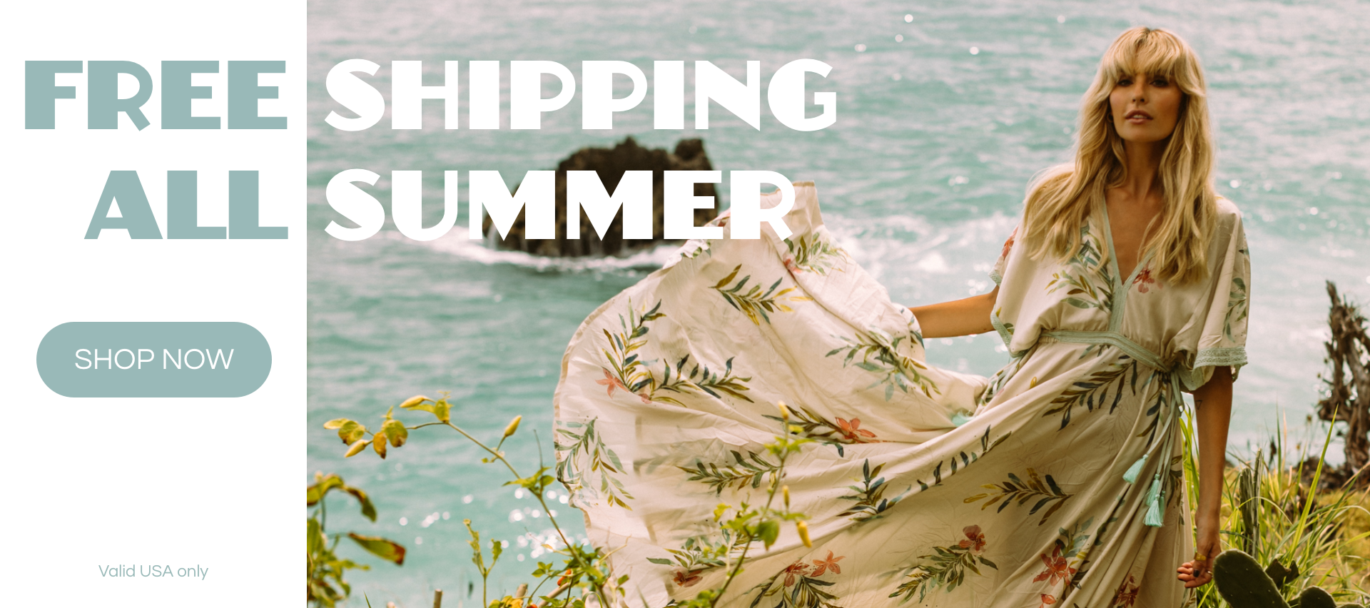 Cobalt & Tawny Free Shipping All Summer Long