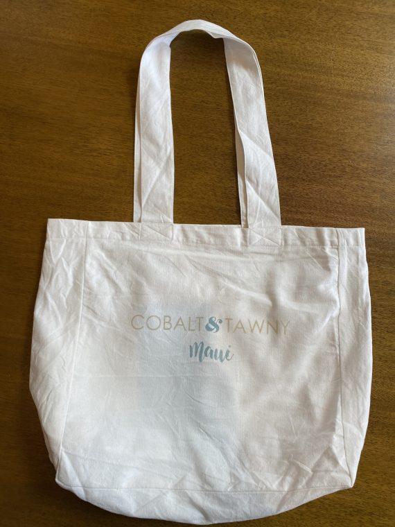 Cobalt and Tawny Mahalo Bag Front